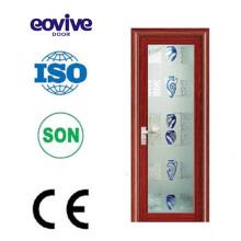 Various styles standard size upvc aluminum alloy frame glass door