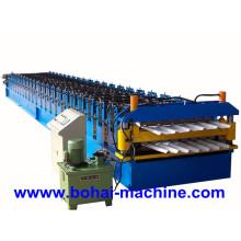 Machine de formage de rouleaux de feuilles à double couche Bh