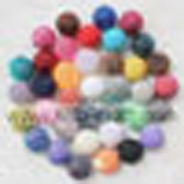 Hot Sale Mix color Acrylic Chunky Solid Resin Rhinestone Ball Beads 20*22MM