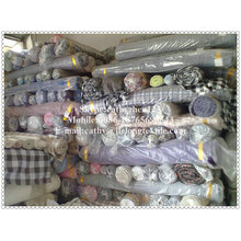 strip and check yarn dyed fabric
