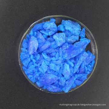 SGS-zertifiziertes Kupfersulfat 98% für die galvanische und pharmazeutische Industrie