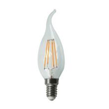 À incandescence LED lumière C30L-Cog 4W 470lm E14 4PCS Filament