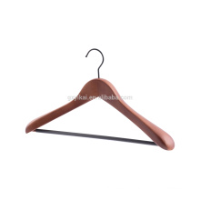 Brown color wooden coat hanger