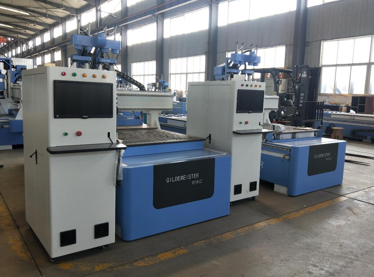 4 spindles atc cnc router