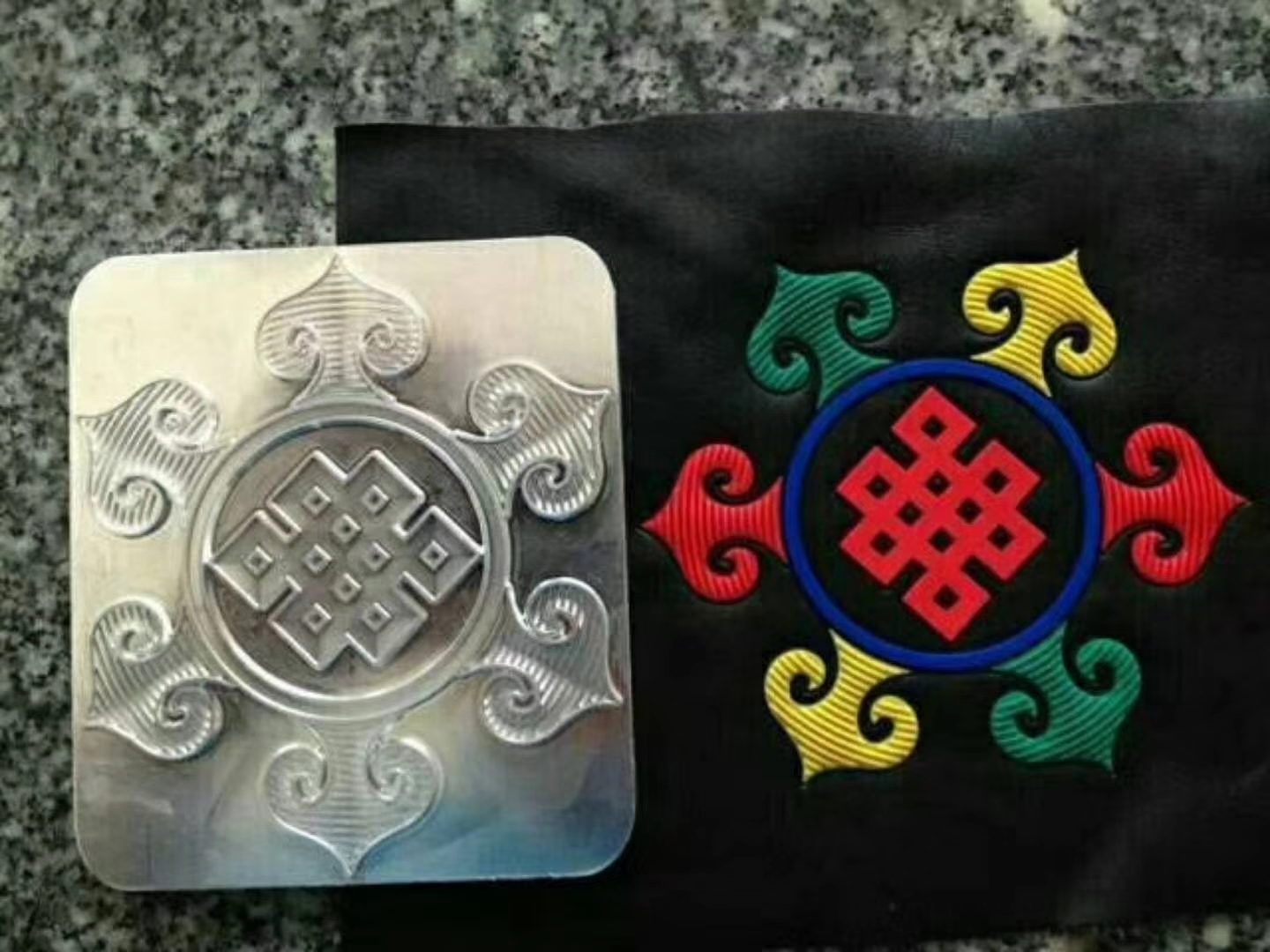 multi colors silicone embossing