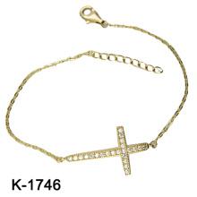 Bracelet CZ coloré en argent sterling 925 (K-1746. JPG)