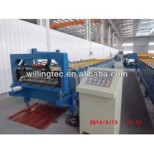 Hydraulic cutting portable metal roofing roll forming machine made in china