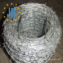 Double Twist Barbed Wire Coil