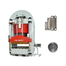 Heavy  steel door embossing hydraulic press machine