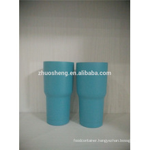 900ml stainless steel 18/8 insulated vacuum cup with powder coating