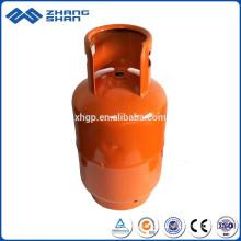 Promotion Wholesale Refillable 9Kg lpg Gas Bottle for BBQ