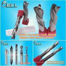 Herramienta de corte de fresado de engranajes de carburo de tungsteno BFL / juegos de herramientas de fresado CNC para máquina