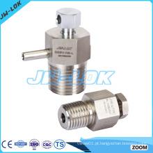 Alta eficiência Válvula manual de purga em aço inoxidável