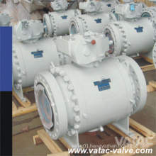 High Pressure 900lb, 1500lb, 2500lb Trunnion Ball Valve From Forged Steel