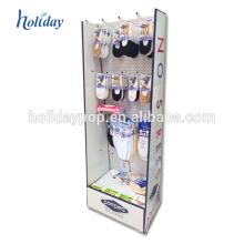 Affichage de carton de promotion de cas de téléphone portable de supermarché avec le crochet / Peg