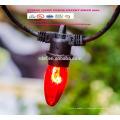 Lumières de ficelle extérieures de SLT 800 LED, éclairage commercial de jardin d'ambiance