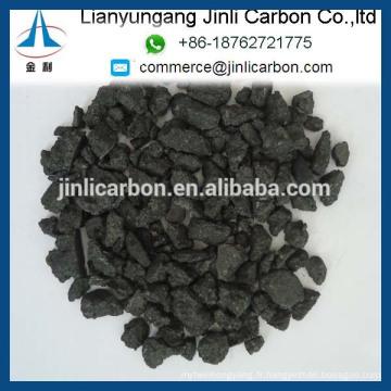 bouts d'électrode de graphite GES / graphite additif de carbone électrode de graphite écrasée morceaux d'électrode de graphite / poudre / fines