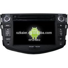 Fábrica! sistema de navegación del gps del dvd del coche para toyota RAV4 + dual core + OEM + STOCK + FACTORY