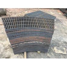 Customized Street Rusted Metal Corten Steel Tree Grating for Garden Furniture