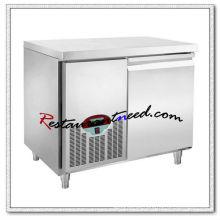 R301 1,2 m 1 Tür Luxuriöse Fancooling Unterbau Kühlschrank