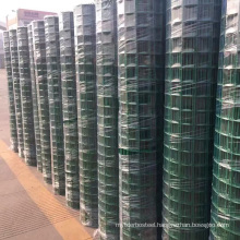 Best quality Green pvc coated welded wire mesh fence