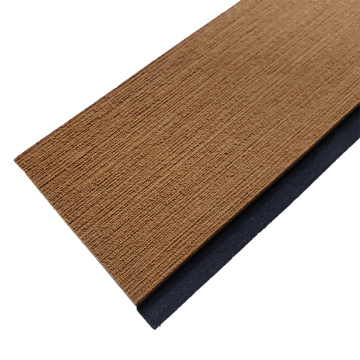 Light Brown & Black Marine EVA Faux Teak Strip
