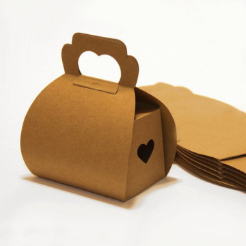 Kraft Paper Color Cake Gift Box