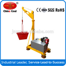 1000kgs construction mini portable crane small crane with diesel engine