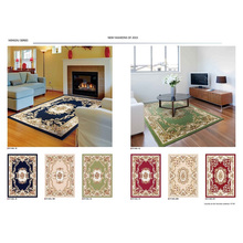 High Qualitywilton Machine Made Oriental Rugs with Carving Patterns