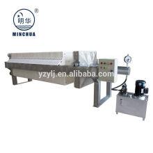 Minghua 1000x1000mm Kammerfilterpresse chemische Industrie