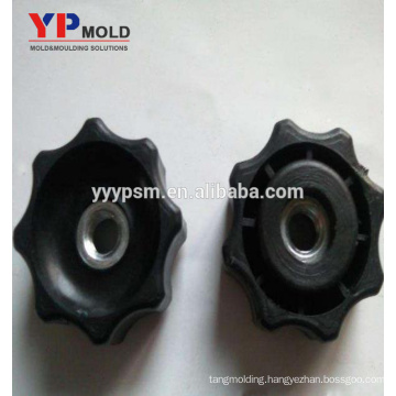 Custom-Made Nuts Inserted Plastic Knobs Injection Mould