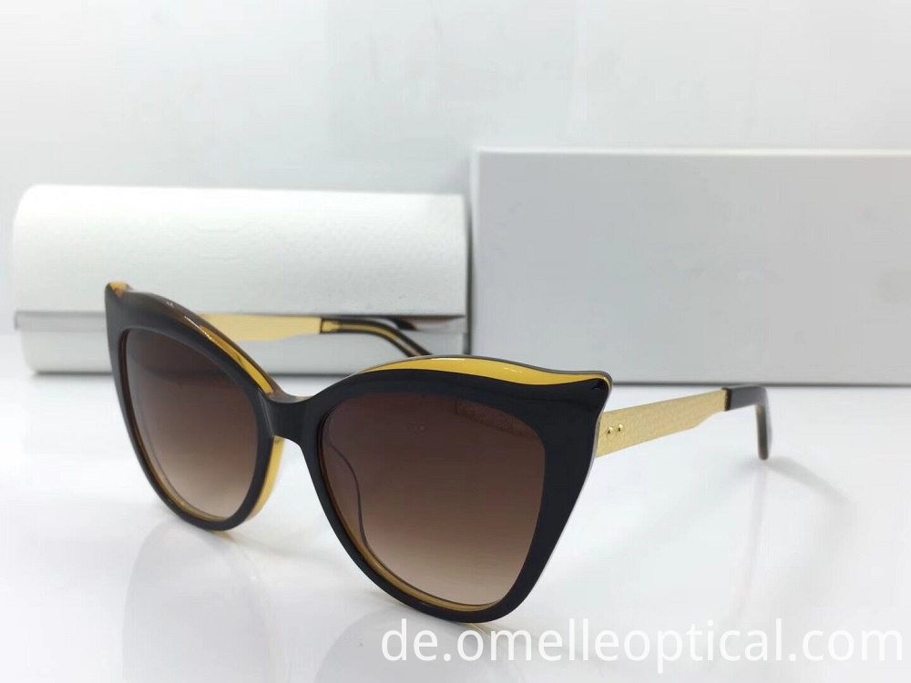 Uv Protected Cat Eye Sunglasses