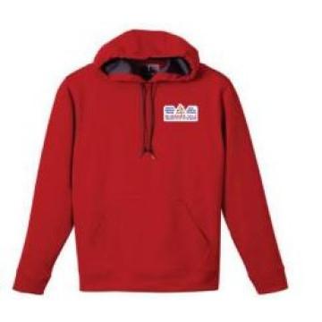 Großhandel Freizeit gedruckt Red Pullover Männer Hoody