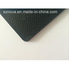Material reforzado Laminado de tela de carbono 3k