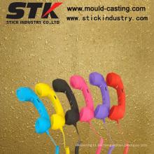Pintura de goma, accesorios del teléfono, tratamiento de la superficie del color de la manera (STK-S - 25)