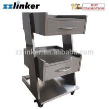 2 Drawers Mobile Pedestal Dental Cabinet for Sale