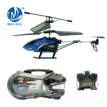 2CH Wireless Rechargable Infrared Mini Helicopter with Bult-in LED Light