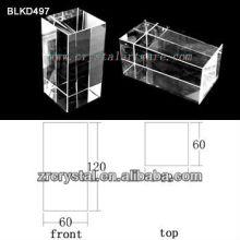 K9 En blanco de cristal para BLKD497 de grabado del Laser 3D