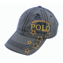 Plain Color Washed Cotton Thick Embrodiery Soprts Cap