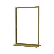 Square Frame Double Sides Floor Display