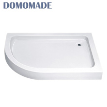 Shower tray with base quartz solid surface