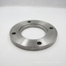 Bride de plaque d'acier au carbone avec certificat ISO
