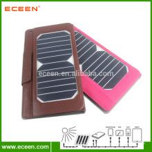 Sac en cuir pour sac à chargement solaire Ipad & phone