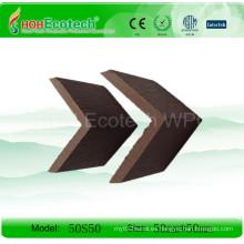 Tapa de compuesto de plástico de madera (50S50)