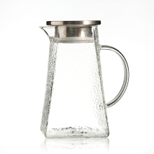 High Quality Borosilicate Glass Water Carafe With Silicone Lid