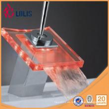 Botella de cristal del grifo del cuerpo del latón con el grifo (YL-8001)