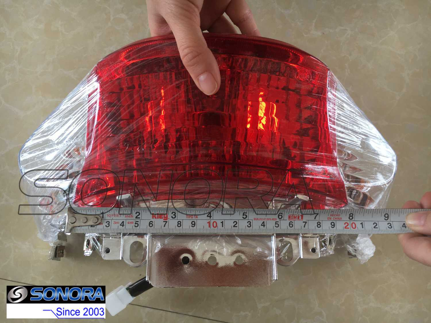 Jonway scooter taillight