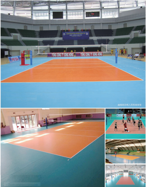 VOLLEYBALL COURTS CASES