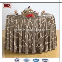 100% Polyester Wholesale Jacquard Linen Cheap Restaurant Table Cloth