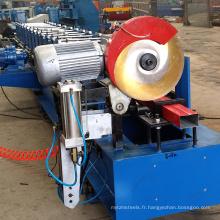Petit pain de pliage de gouttière de descente d'eau en métal utilisé formant la machine à vendre